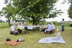 Picknick und Erfahrungsaustausch auf der Streuobstwiese, © Ulrike Dietrich
