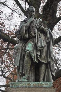 Ludwig Wilhelm Wichmann, Winckelmann-Denkmal Stendal, Bronze, 1859, Foto: John Palatini