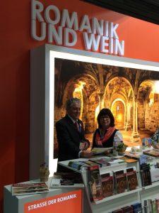 Helmut Qual auf der ITB 2017, Foto:  Landestourismusverband Sachsen-Anhalt