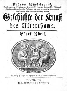 Titelblatt der Erstausgabe, 1764, Bild: Universitätsbibliothek Heidelberg, CC BY-SA 3.0, https://creativecommons.org/licenses/by-sa/3.0/