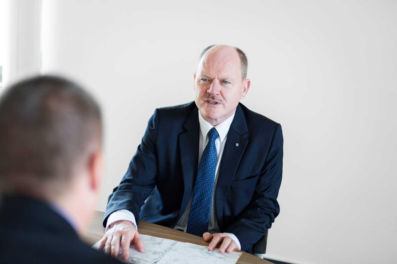 Thomas Webel (CDU), Minister für Landesentwicklung und Verkehr des Landes Sachsen-Anhalt; © Dirk Mahler