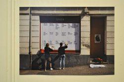Dokumentation der Plakataktion in Zeitz, Foto: J. Palatini