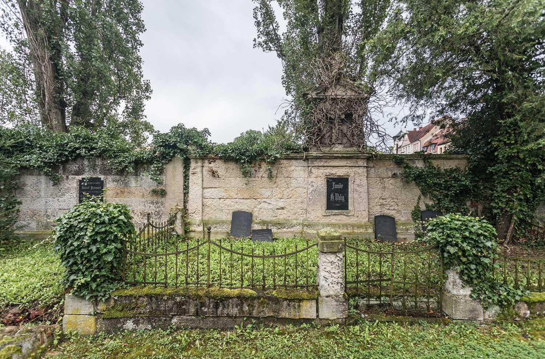 Johannisfriedhof Zeitz, 2017 ©behnelux gestaltung