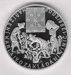 Medaille 500 Jahre Weinbaudekret; H. Sommerfeld