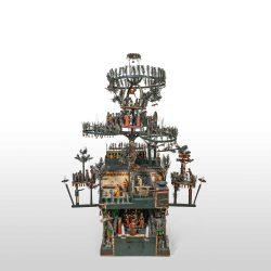 Gesamtansicht der Weihnachtspyramide aus dem Jerichower Land; ©behnelux gestaltung