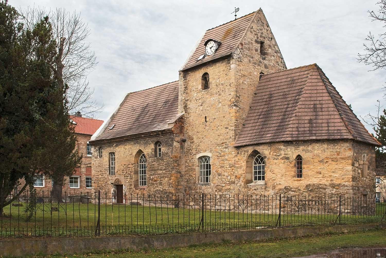 Die St.-Johanniskirche zu Eisdorf heute, Foto: Anja Ulrich