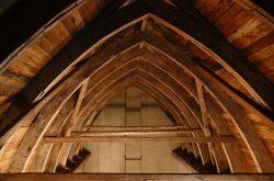 Blick in den Dachstuhl, Foto: F. Schories