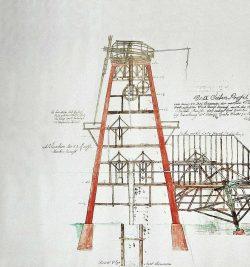 Bild 10: Salzelmen, Schönebeck, Soleturm mit Flügeln, 1776, Museum Saline ; Kunsthof Bad Salzelmen