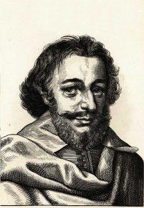 Matthäus Merian d. Ältere (1593–1650), Holzschnitt um 1860, Sammlung Walter Müller