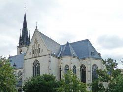 Halle, St. Elisabeth und Franziskus; Foto: M. Beitz