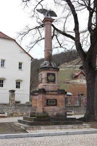 Kriegsdenkmal (1895) in Freyburg. Foto: John Palatini