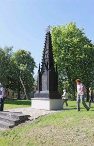 """""""Schinkel-Tabernakel"""" in Großgörschen (1817). Foto: Tobias Bachmann"""