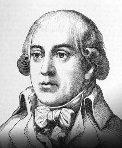 Porträt von Gottfried August Bürger, Archiv W. Müller