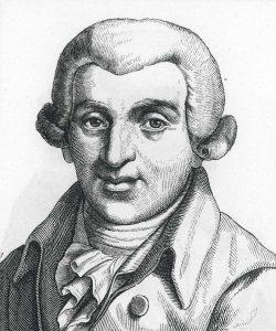 Porträt von Johann Wilhelm Ludwig Gleim, Archiv W. Müller