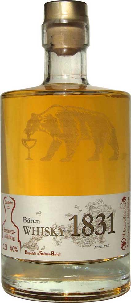 Bärenwhisky aus Köthen; © Cornelia Kubitz