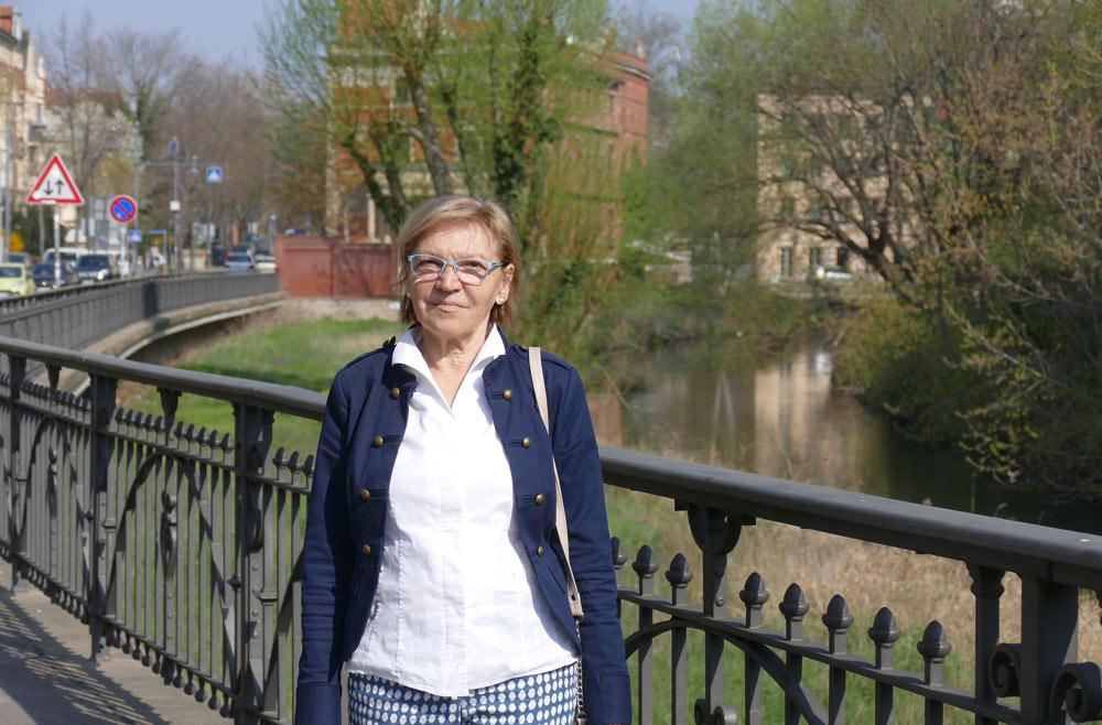Gudrun Schlotte, Engagementbotschafterin Kultur des Landes Sachsen-Anhalt; Foto: Franziska Schories