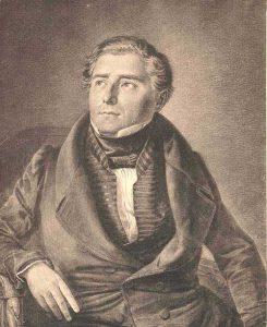 Carl Loewe nach einem Gemälde von Ludwig Most. Archiv Internationale Carl-Loewe-Gesellschaft