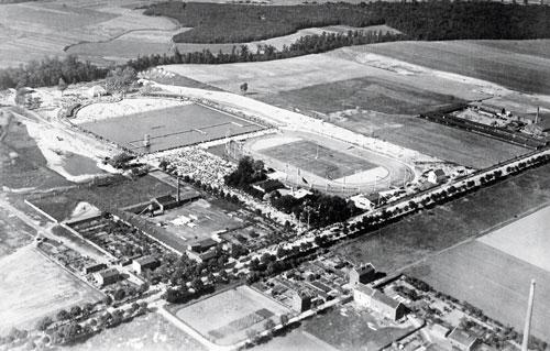 Luftaufnahmen von 1931. Stadtarchiv Magdeburg