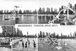 Postkarte von 1977. Stadtarchiv Magdeburg