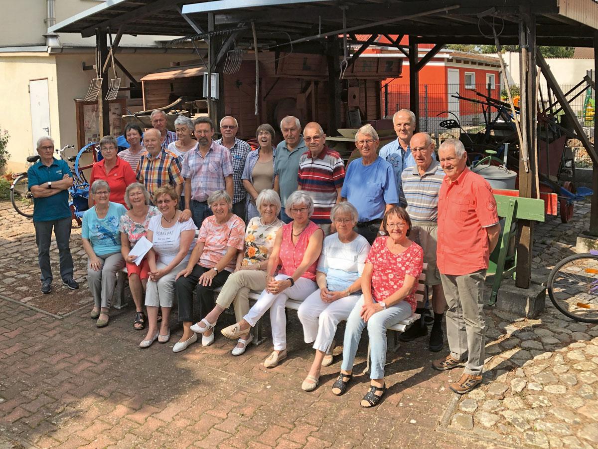 Engagierte im Heimatverein Plötzky Ostelbien e. V., Foto: Martin Kütz