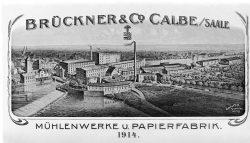Bild 9 Gesamtüberblick in der Zeit um 1910. Sammlung Heimatstube Calbe (Saale).