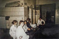 Klinische Ausbildung in der Tierklinik für Innere Tiermedizin 1990/91. Foto: Karin Reglich privat.