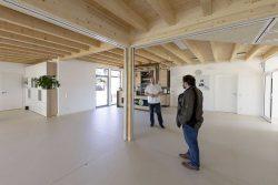 Im neuen KULTURhaus in Mösthinsdorf, Foto: Matthias Behne, lautwieleise
