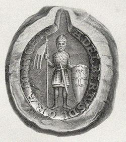 Siegel Albrechts des Bären Codex Diplomaticvs Anhaltinivs, Theil 1 936–1212 mit zehn Siegeltafeln, hrsg. von Otto Heinemann, Dessau Barth 1867–1873. https://t1p.de/w502