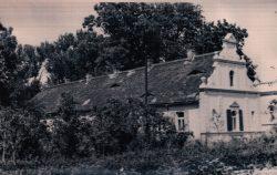 Pferdestall (Westansicht, Foto, um 1950, Sammlung Günther Döring)