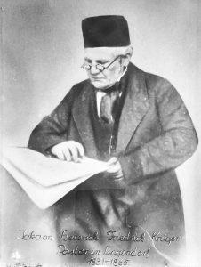 Pastor Johann Heinrich Friedrich Krüger aus Lagendorf (1805–1865); Foto: Archiv Hartmut Bock