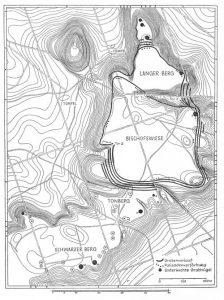 Archäologische Kulturdenkmale im Kernbereich der Dölauer Heide (nach Waldemar Matthias: Kataloge zur mitteldeutschen Schnurkeramik, Teil V, Mittleres Saalegebiet, Berlin 1982.)
