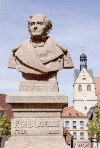 Carl-Loewe-Denkmal in Löbejün. Foto: © ICLG