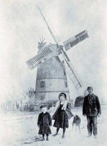 Bild 9: Aufnahme um 1910, Wilhelm Regeler, wahrscheinlich mit seinen Kindern Erna Lisbeth und Friedrich Wilhelm. Heimatmuseum der  Stadt Aken.