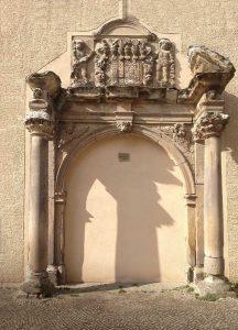 Ehemaliges Schlossportal; Foto: A. Schneider-Reinhardt