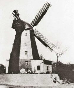 Bild 7: Salzwedel, Turmwindmühle, Repro Herbert Riedel, Zeitz