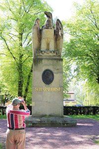 Scharnhorst-Denkmal (1913) in Großgörschen. Foto: Tobias Bachmann
