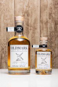 Der Old-Mark Whisky. © Matthias Schulz, Edeldestille Diesdorf