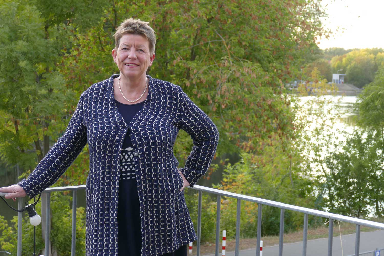 Prof. Dr. Claudia Dalbert, Ministerin für Umwelt, Landwirtschaft und Energie in Sachsen-Anhalt; Foto: F. Schories