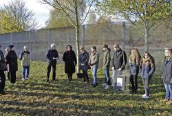 Mit Schülern des Fallstein-Gymnasiums Osterwieck, Foto: Lothar Engler