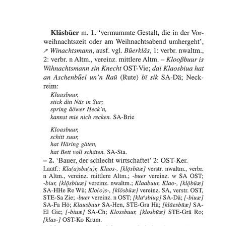 Artikel Klasbuer (Bd. 2,512) aus dem Mittelelbischen Wörterbuch.