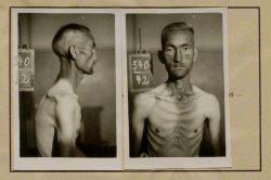 Auszug aus einer Häftlingspersonalakte. Der Gefangene verstarb an den Folgen der Lagerhaft.Landesarchiv Sachsen Anhalt, Abt. Dessau, Z 259, Nr. 2339.