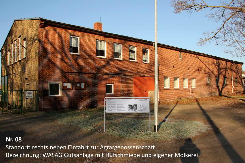 WASAG-Lehrpfad, Foto: Geschichts- und Forschungsverein WASAG Haupt-Werk Reinsdorf