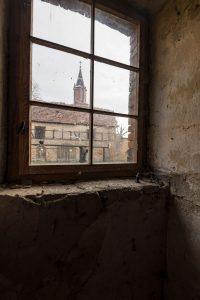 Das alte Pfarrhaus in Mehringen. Foto: Matthias Behne, lautwieleise Halle