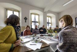 Kulturerbe-Netz-Treffen in Mehringen, Januar 2020. Foto: Matthias Behne, lautwieleise Halle